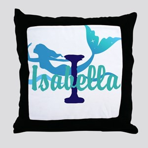 Mermaid Personalize Throw Pillow